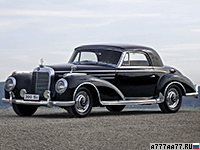 1955 Mercedes-Benz 300 SC Coupe = 176 км/ч. 175 л.с. 11.1 сек.