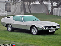 1967 Jaguar Pirana by Bertone = 235 км/ч. 269 л.с. 7.6 сек.