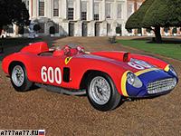 1956 Ferrari 290 MM Scaglietti Spider = 280 км/ч. 320 л.с. 4.8 сек.