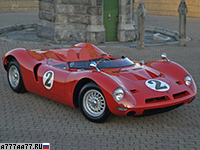 1966 Bizzarrini P538 Barchetta = 280 км/ч. 360 л.с. 5.2 сек.