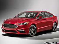 2017 Ford Fusion Sport EcoBoost = 250 км/ч. 329 л.с. 5.5 сек.
