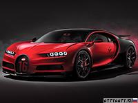 2018 Bugatti Chiron Sport = 420 км/ч. 1500 л.с. 2.5 сек.