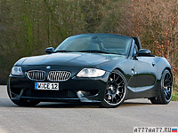 2010 BMW Z4 Manhart Racing V10 = 250 км/ч. 550 л.с. 3.9 сек.