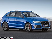 2017 Audi RS Q3 Performance = 270 км/ч. 367 л.с. 4.4 сек.