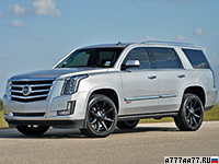 2016 Cadillac Escalade Hennessey HPE800 Supercharged = 288 км/ч. 816 л.с. 4.3 сек.
