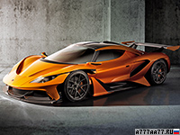 2016 Apollo Arrow Concept = 360 км/ч. 1000 л.с. 2.9 сек.