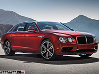 2016 Bentley Flying Spur V8 S = 306 км/ч. 528 л.с. 4.9 сек.