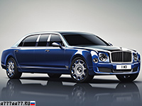 2016 Bentley Mulsanne Grand Limousine by Mulliner = 296 км/ч. 512 л.с. 5.8 сек.