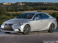 2013 Lexus IS 350 F-Sport = 230 км/ч. 310 л.с. 5.9 сек.