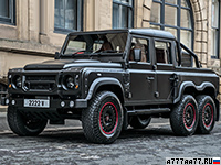 2016 Kahn Design Flying Huntsman 110 6X6 Defender Double Cab Pickup = 150 км/ч. 170 л.с. 17 сек.