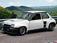 1983 Renault 5 Turbo 2 = 209 км/ч. 162 л.с. 6.6 сек.