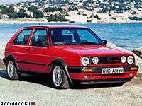 1988 Volkswagen Golf GTI G60 (Typ 1G) = 216 км/ч. 160 л.с. 8.3 сек.