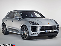 2016 Porsche Macan Turbo Performance Package = 272 км/ч. 440 л.с. 4.4 сек.