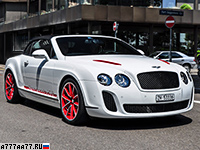 2011 Bentley Continental Supersports Convertible ISR = 331 км/ч. 640 л.с. 4 сек.