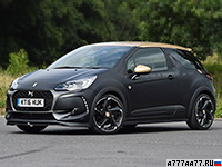 2016 DS 3 Performance = 230 км/ч. 207 л.с. 6.5 сек.