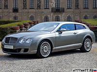 2010 Bentley Continental Flying Star = 322 км/ч. 610 л.с. 4.8 сек.