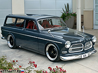 2006 Volvo Amazon Custom Concept = 270 км/ч. 600 л.с. 3.5 сек.