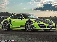 2017 Porsche 911 Turbo TechArt GTstreet R = 350 км/ч. 720 л.с. 2.6 сек.