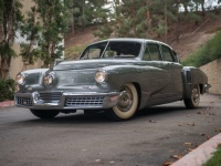 1948 Tucker 48 Torpedo Sedan = 193 км/ч. 169 л.с. 10.5 сек.