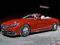 2017 Mercedes-Maybach S 650 Cabriolet (A217) = 250 км/ч. 630 л.с. 4.1 сек.