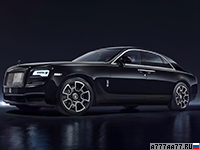 2016 Rolls-Royce Ghost Black Badge = 250 км/ч. 612 л.с. 4.8 сек.