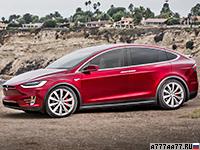 2017 Tesla Model X P100D = 250 км/ч. 773 л.с. 3.1 сек.