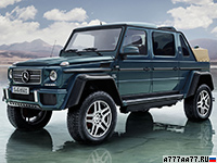 2017 Mercedes-Maybach G 650 Landaulet = 200 км/ч. 630 л.с. 6 сек.