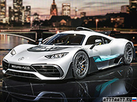 2017 Mercedes-AMG Project ONE = 355 км/ч. 1034 л.с. 2.5 сек.