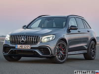 2017 Mercedes-AMG GLC 63 S 4Matic+ (X253) = 250 км/ч. 510 л.с. 3.8 сек.