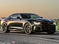 2017 Chevrolet Camaro ZL1 Hennessey The Exorcist = 349 км/ч. 1014 л.с. 3.2 сек.