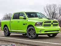 2017 Dodge Ram 1500 Sublime Sport = 210 км/ч. 401 л.с. 6.7 сек.