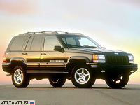 1998 Jeep Grand Cherokee 5.9 Limited (ZJ) = 200 км/ч. 249 л.с. 7 сек.