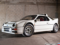 1986 Ford RS200 Evolution = 190 км/ч. 588 л.с. 3.4 сек.