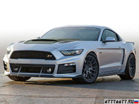 2017 Ford Roush P-51 Mustang = 315 км/ч. 737 л.с. 3.8 сек.
