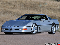 1988 Callaway SledgeHammer Corvette C4 Twin Turbo = 410 км/ч. 910 л.с. 4.1 сек.