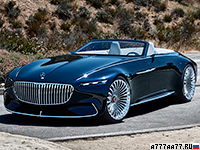 2017 Mercedes-Maybach 6 Cabriolet Vision Concept = 250 км/ч. 750 л.с. 4 сек.