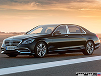2018 Mercedes-Maybach S 650 = 250 км/ч. 630 л.с. 4.1 сек.