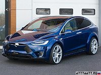 2017 Tesla Model X FAB Design Virium = 250 км/ч. 773 л.с. 3.1 сек.