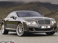 2008 Bentley Continental GT Speed = 324 км/ч. 610 л.с. 4.2 сек.
