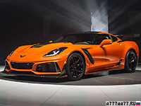 2019 Chevrolet Corvette ZR1 (C7) = 338 км/ч. 765 л.с. 3.1 сек.