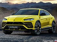 2019 Lamborghini Urus = 305 км/ч. 650 л.с. 3.6 сек.