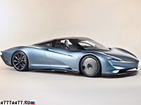 2019 McLaren Speedtail = 403 км/ч. 1050 л.с. 2.7 сек.