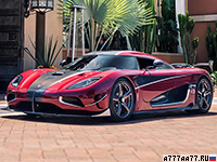 2017 Koenigsegg Agera RS (1MW Upgrade) = 447 км/ч. 1360 л.с. 2.5 сек.