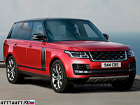 2018 Land Rover Range Rover SVAutobiography Dynamic = 225 км/ч. 565 л.с. 5.4 сек.