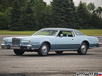 1974 Lincoln Continental Mark IV (65А) = 188 км/ч. 223 л.с. 11.9 сек.