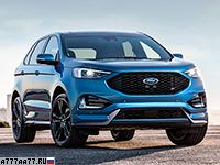 2019 Ford Edge ST = 238 км/ч. 340 л.с. 6.6 сек.