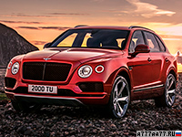 2018 Bentley Bentayga V8 = 290 км/ч. 550 л.с. 4.5 сек.