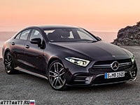 2019 Mercedes-AMG CLS 53 4Matic+ (C257) = 270 км/ч. 435 л.с. 4.5 сек.