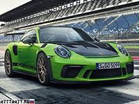 2019 Porsche 911 GT3 RS Weissach (991.2) = 312 км/ч. 520 л.с. 3.2 сек.