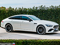 2019 Mercedes-AMG GT 53 4-Door Coupe 4Matic+ (X290) = 285 км/ч. 435 л.с. 4.5 сек.
